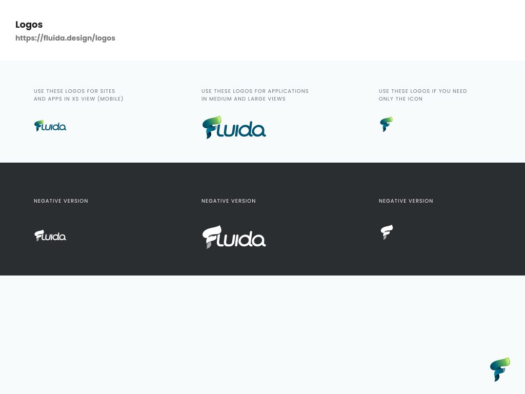 brand identity fluida